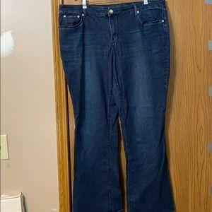 Apt 9 Bootcut Jeans, 18W
